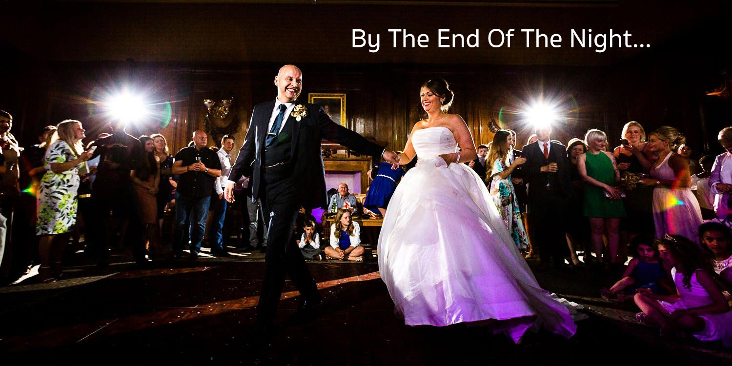 First dance at Ashridge House wedding