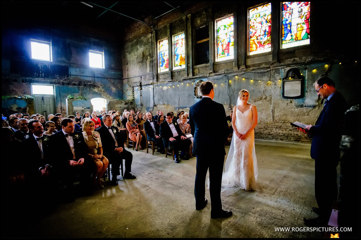 Fabulous Asylum wedding venue in London