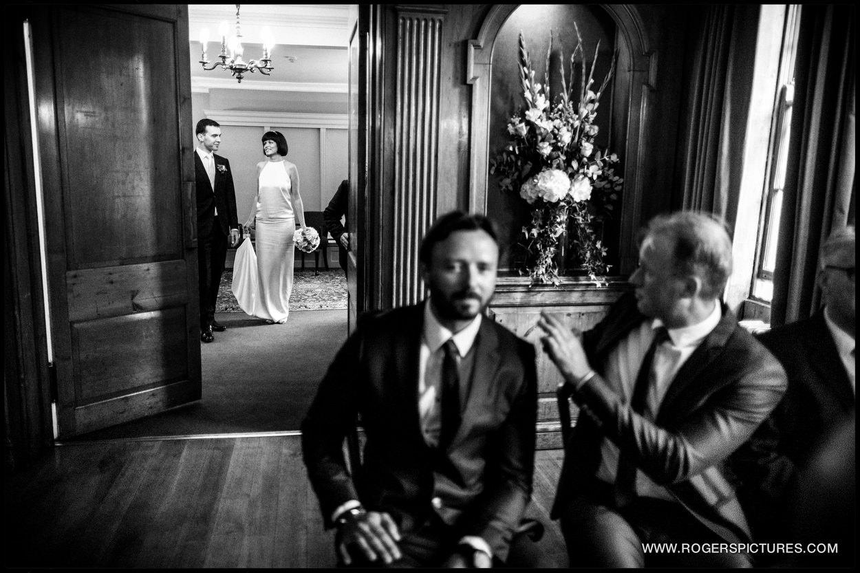 Burgh House Wedding photograph