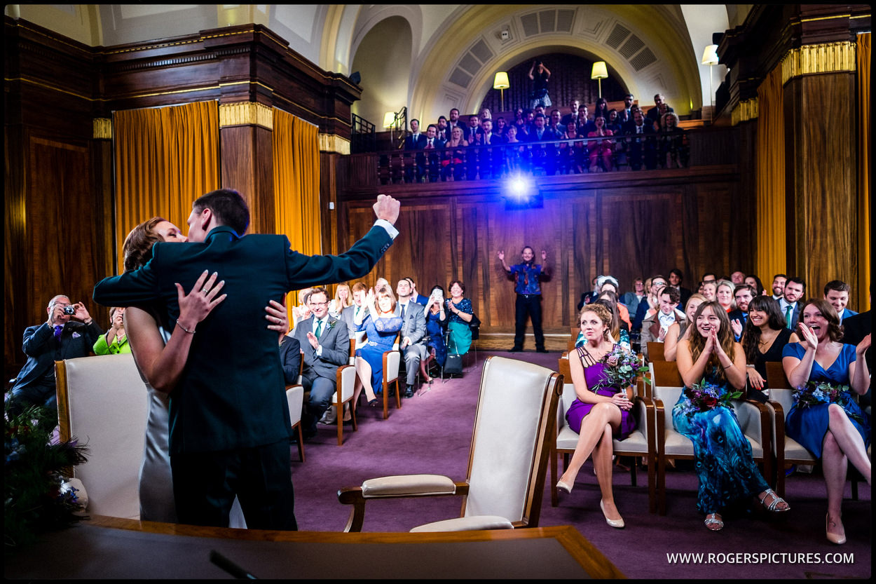 Married at Stoke Newington Town Hall