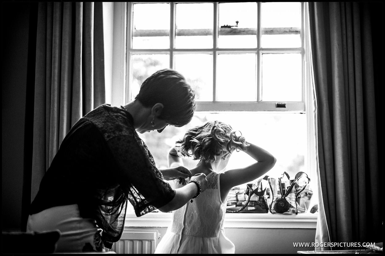 Documentary wedding photography at Gorse Hill in Surrey
