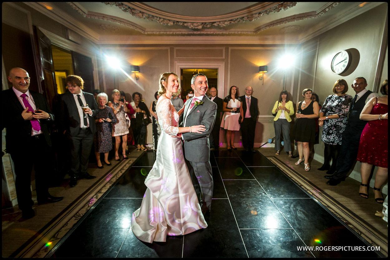 Wedding first dance at Gorse Hill