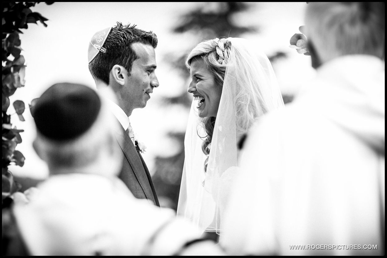 Harpenden wedding photographer jewish wedding ceremony