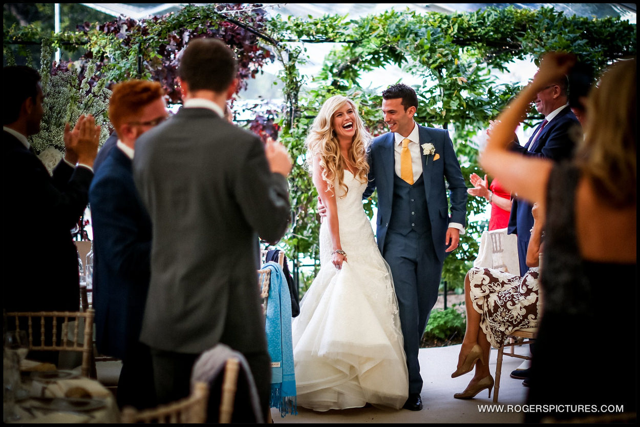 Harpenden wedding photographer in hertfordshire marquee
