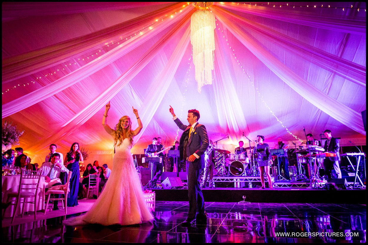 Harpenden wedding photographer marquee wedding