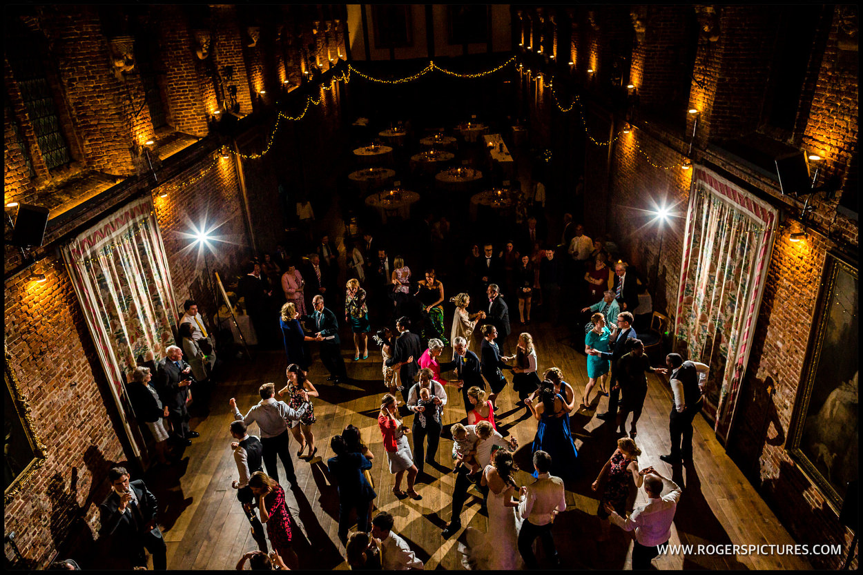 Ceilidh at Hatfield house