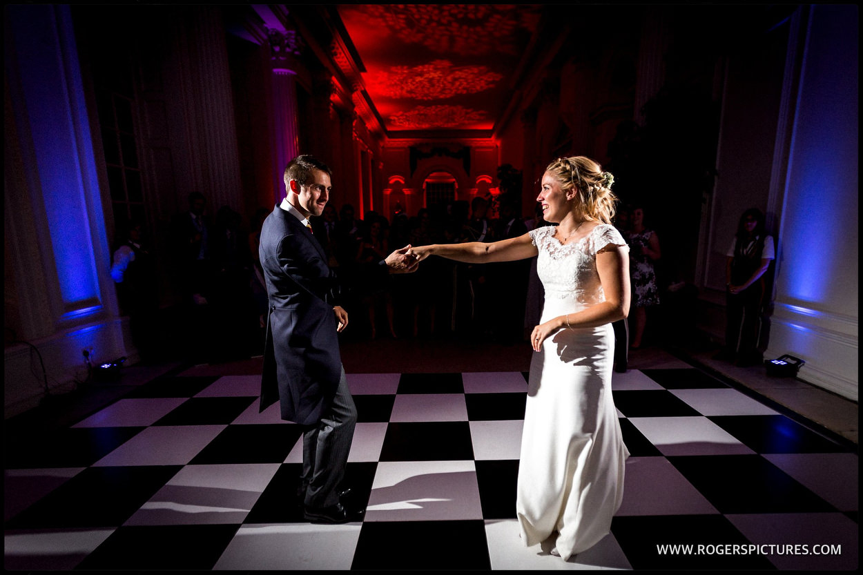 Kensington Palace wedding first dance