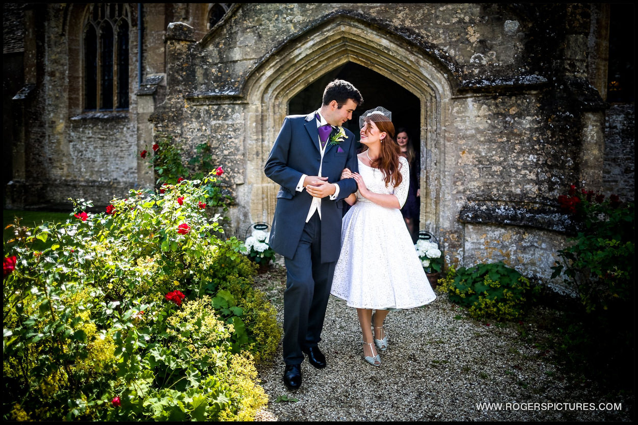 Oxfordshire village church wedding