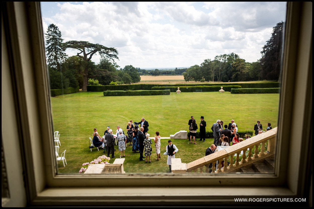 Kirtlington Park Wedding guests