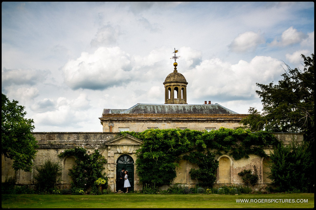 Kirtlington Park Wedding portrait