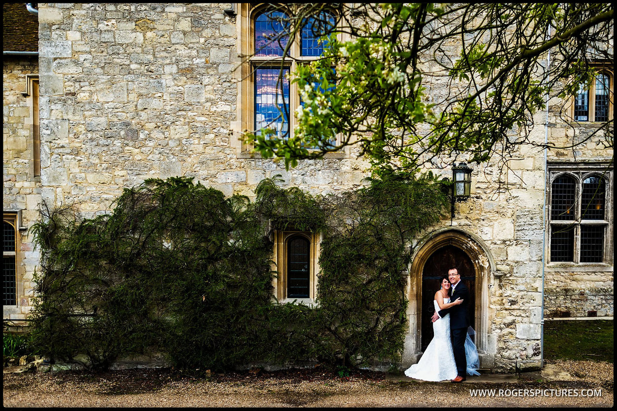 Couple portrait from a Buckinghamshire wedding