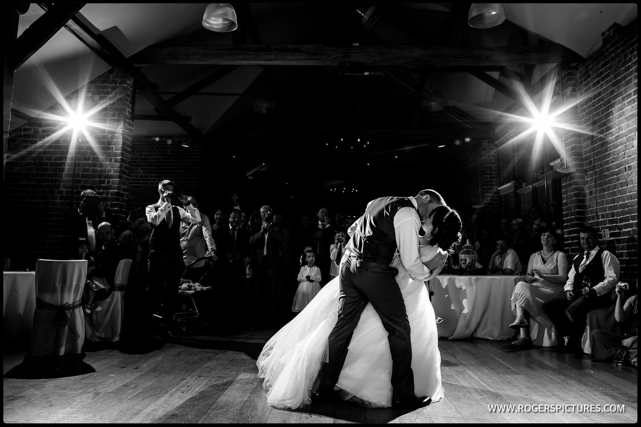 First Dance in the Barn at Wasing Park