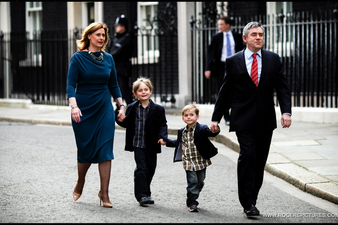 Gordon Brown and Family