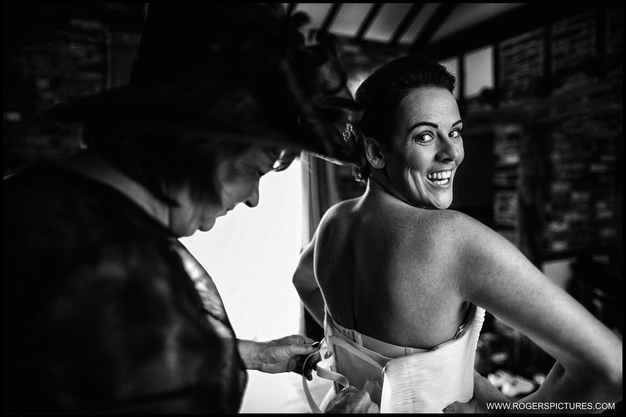 Rivervale Barn bridal preparation