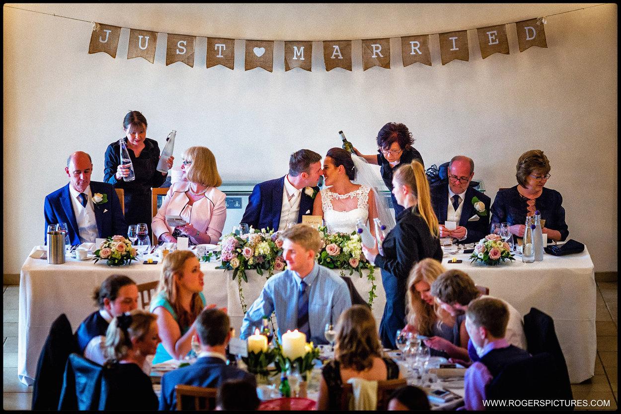 Barn wedding photography in Hampshire
