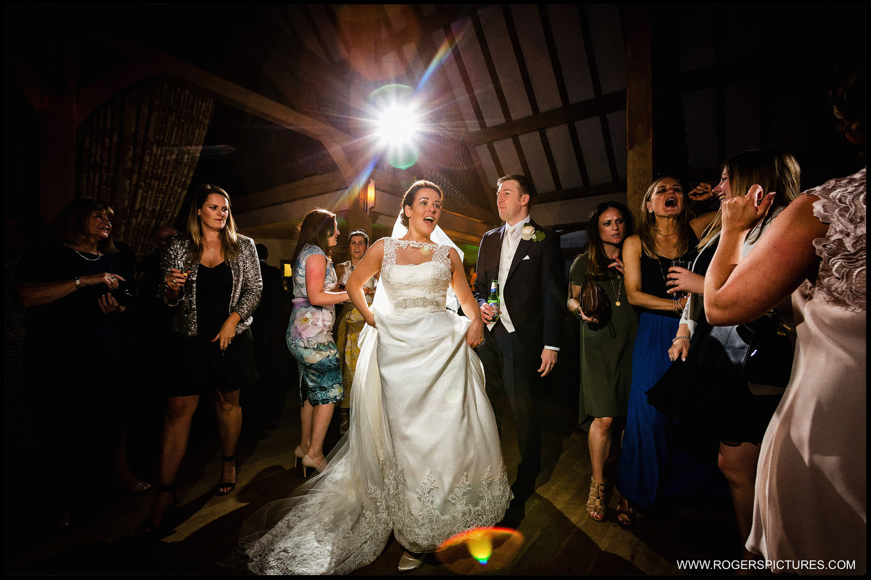 Barn wedding photography in Hampshire