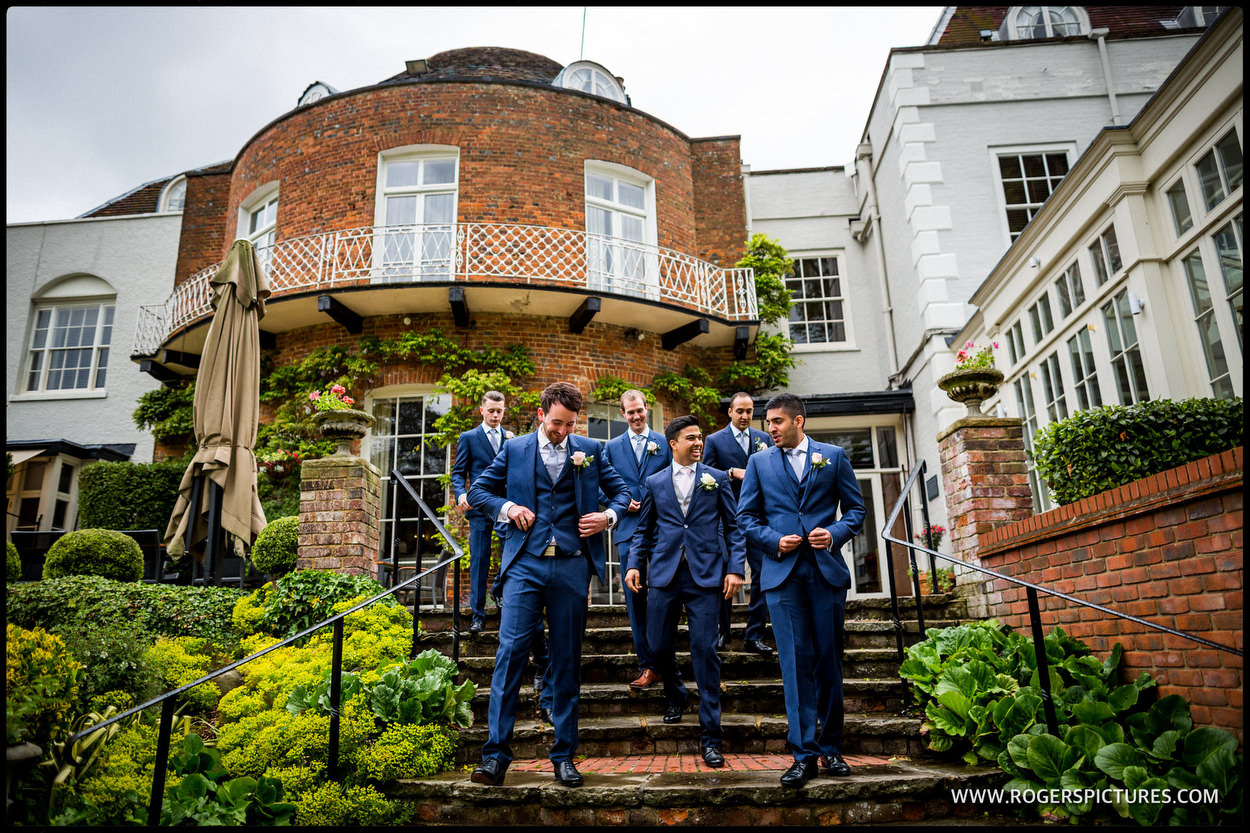 St Michael's Hotel in St Albans wedding