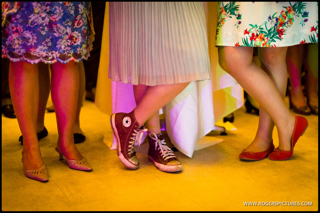 Bridesmaids in Converse