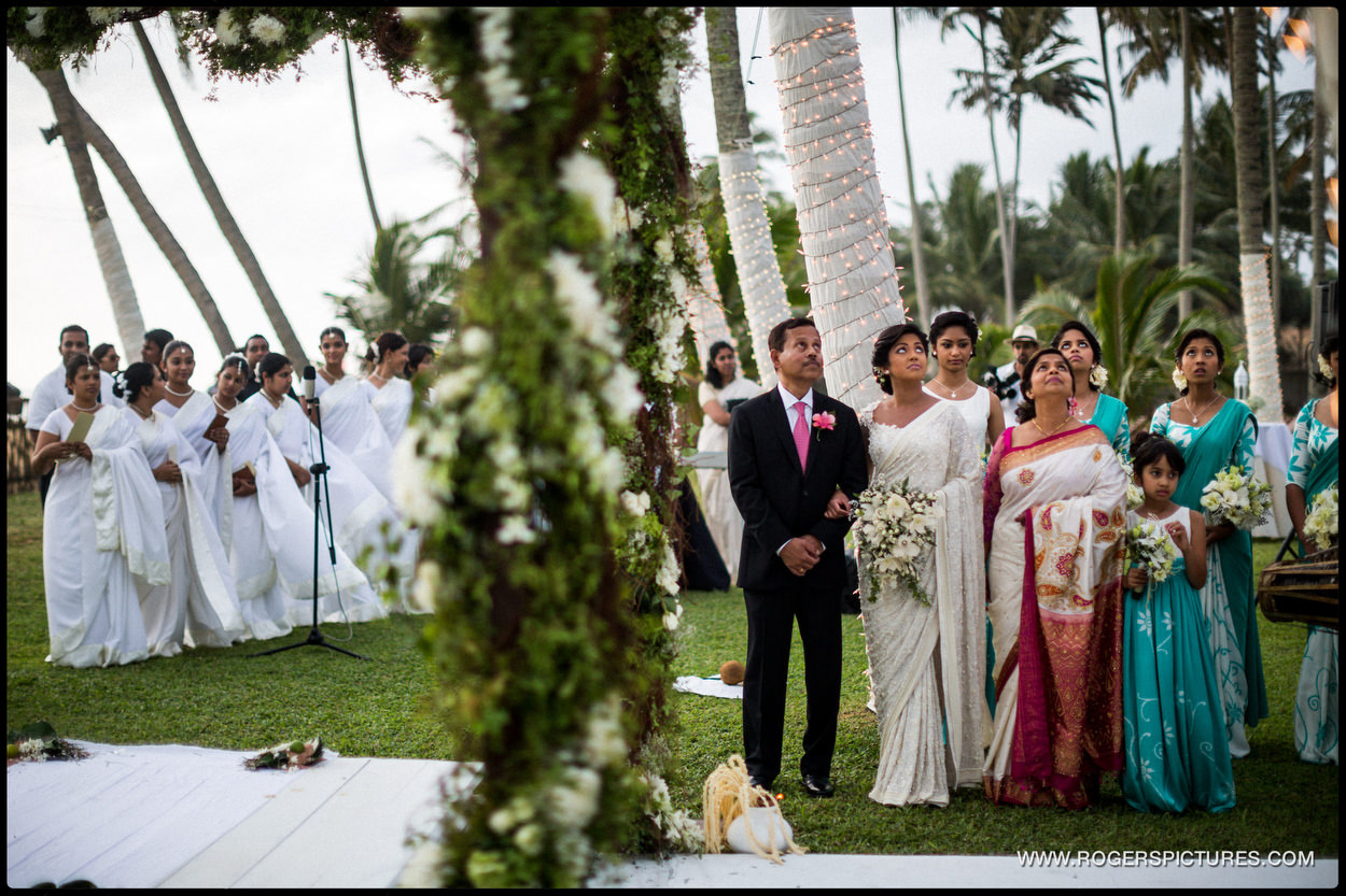 Destination Wedding Photographer Sri Lanka ceremony
