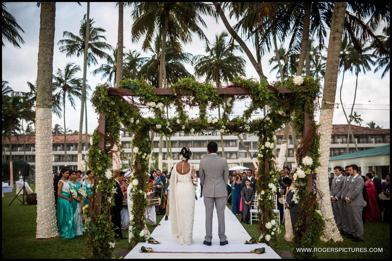 Destination Wedding Photographer Sri Lanka wedding ceremony
