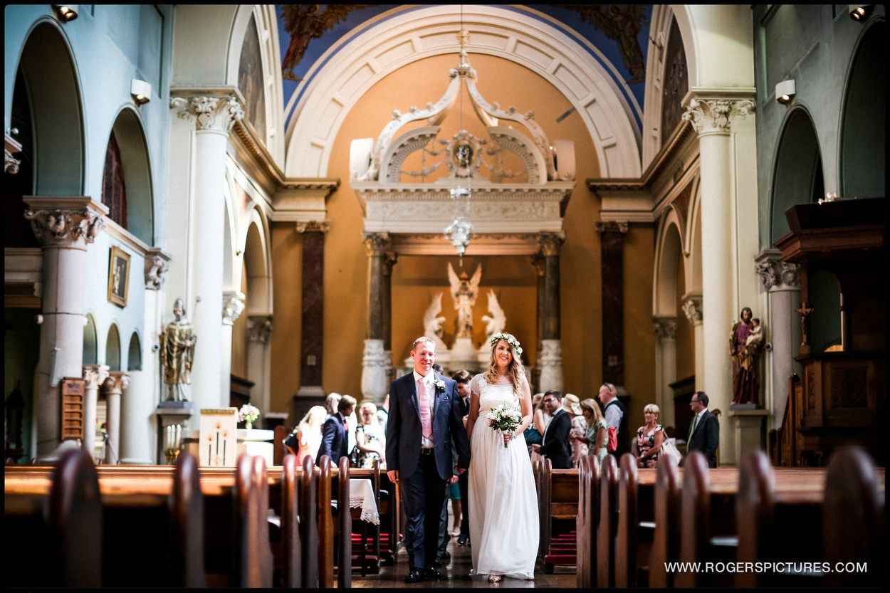 Highgate church wedding