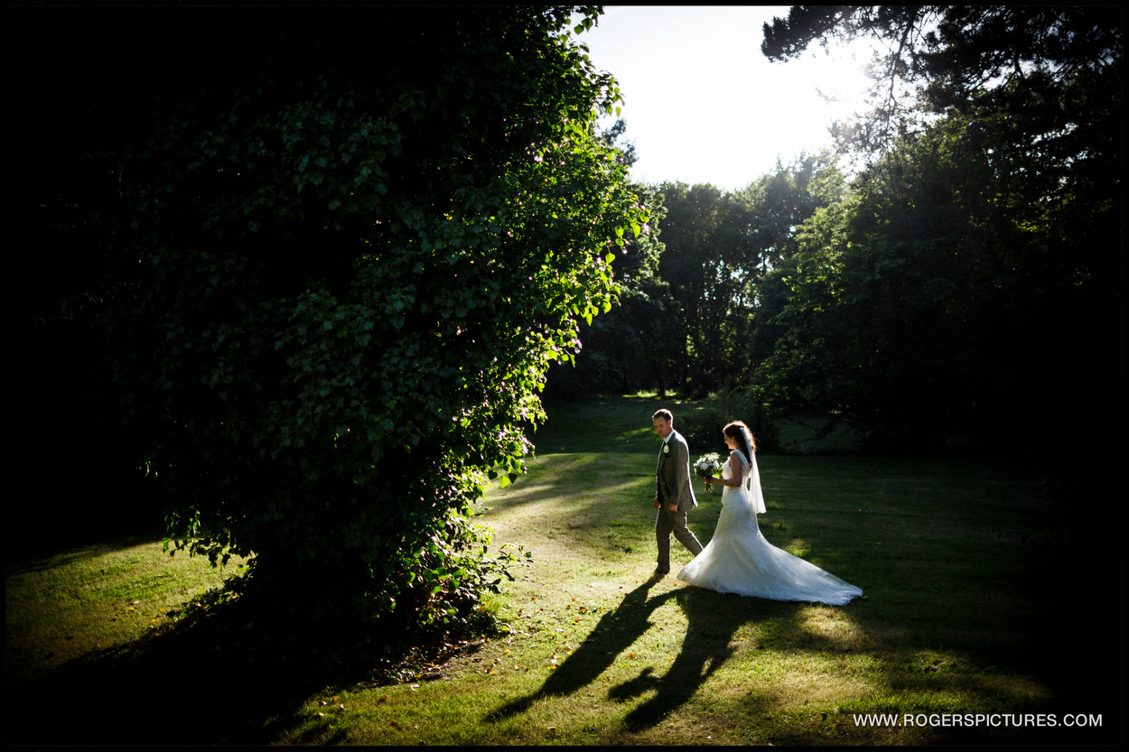 Landguard Manor Wedding portrait
