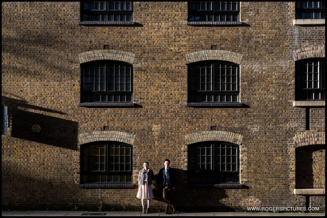 London Engagement Photography docks