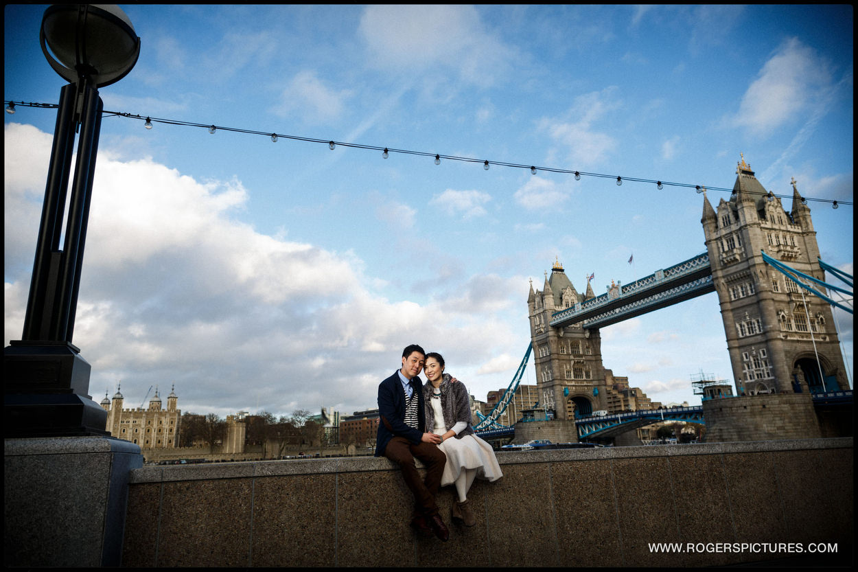 London Engagement Photography Tower Bridge