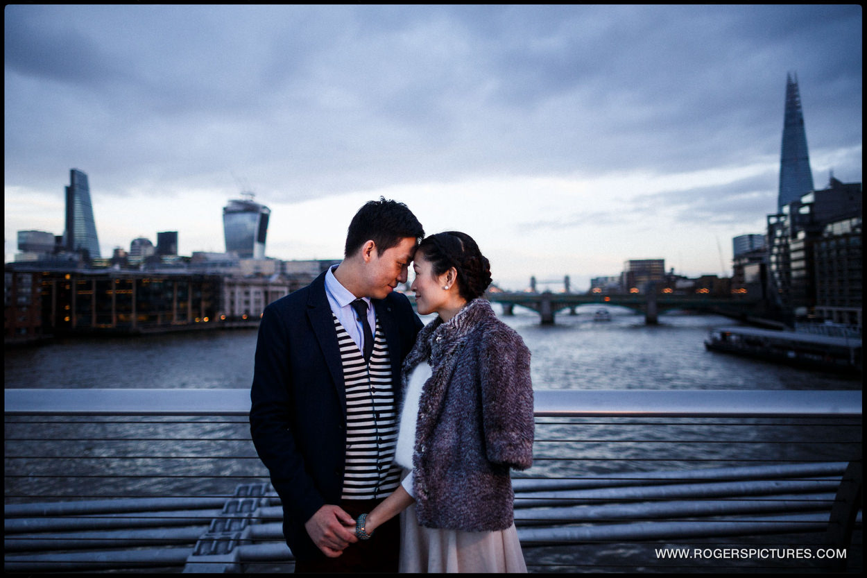 London Engagement Photography by The Thames