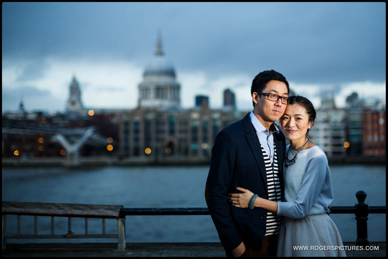 London Engagement Photography by St Paul's