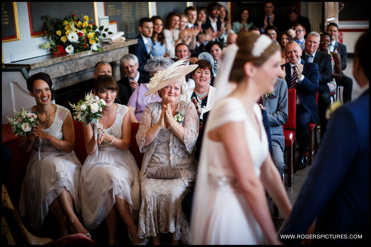 Nuptial celebrations at Rye Town Hall