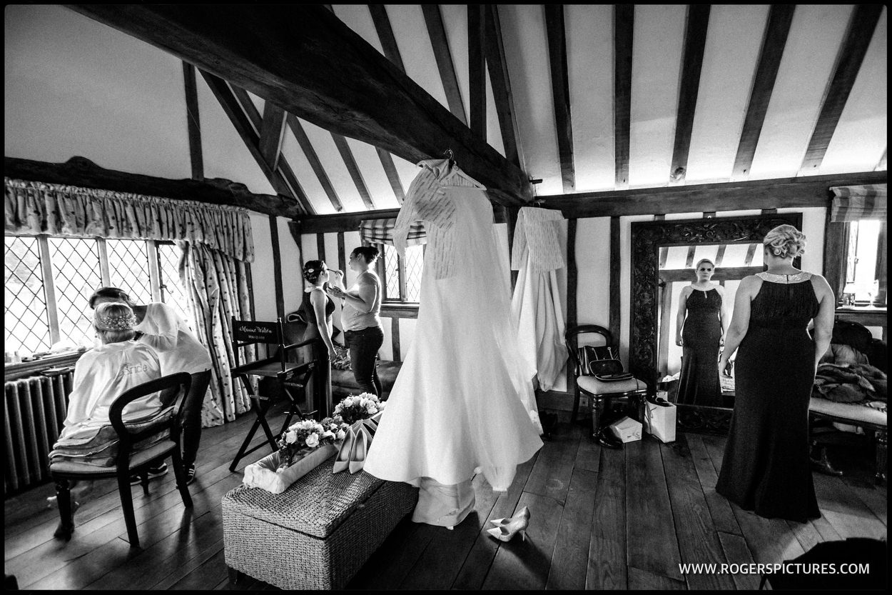 Bridal prep at cain manor