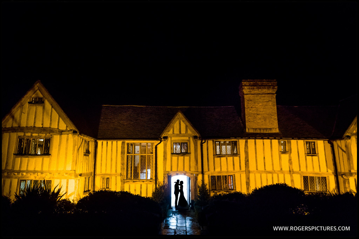 Couple portrait at Cain Manor