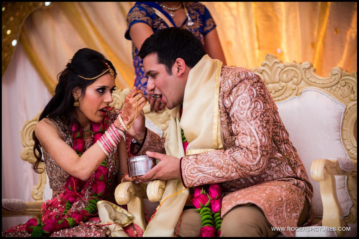 North London Indian Wedding Photography couple