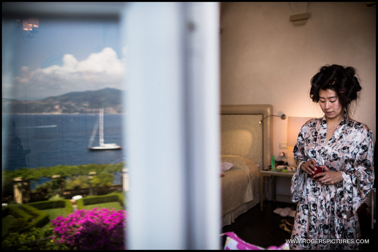 Final prep in Portofino, Italy