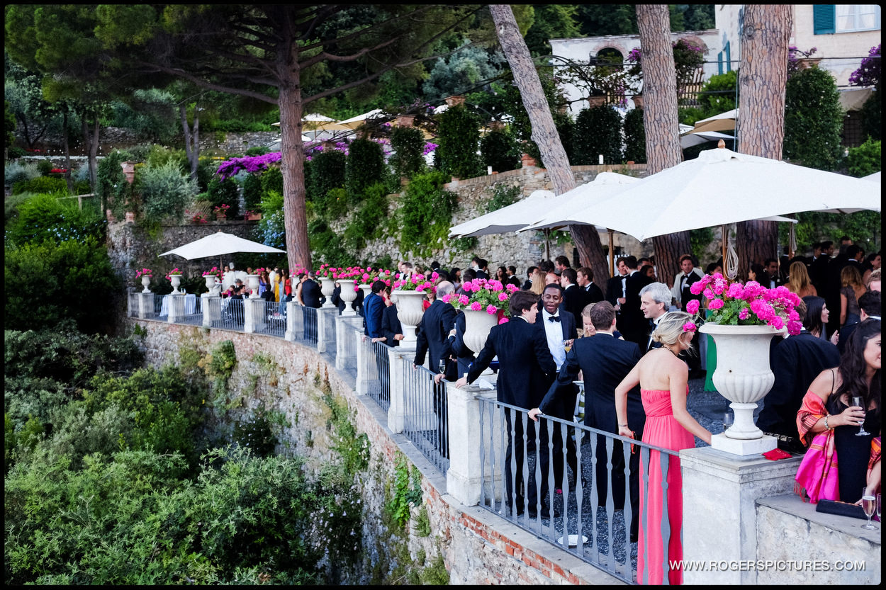 Documentary wedding photography in Portofino