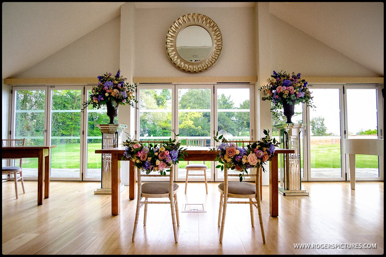 Wedding flowers by the Wessex Flower Company