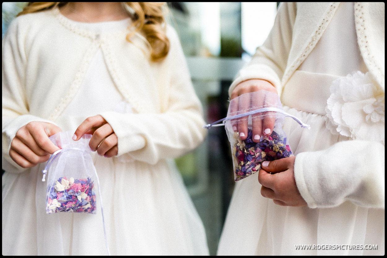 Confetti in bags