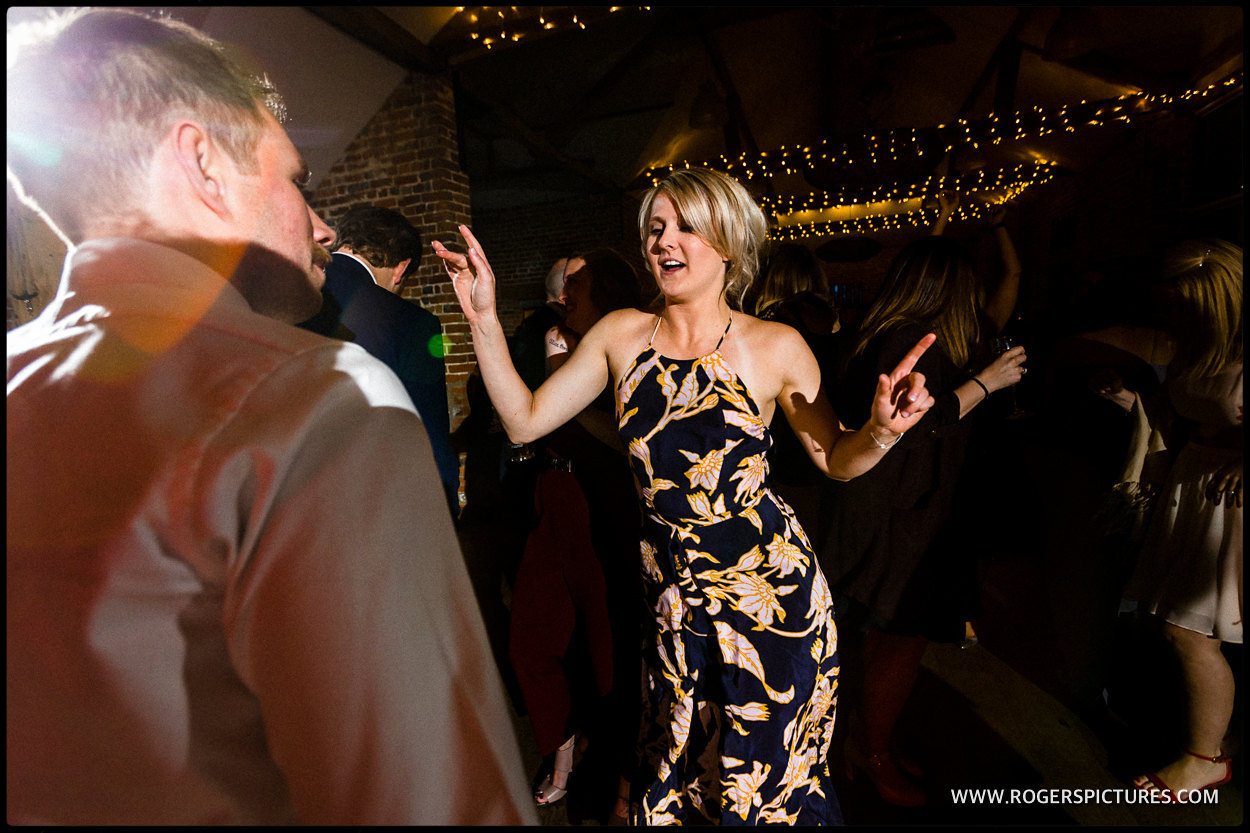 Guests on the dance floor