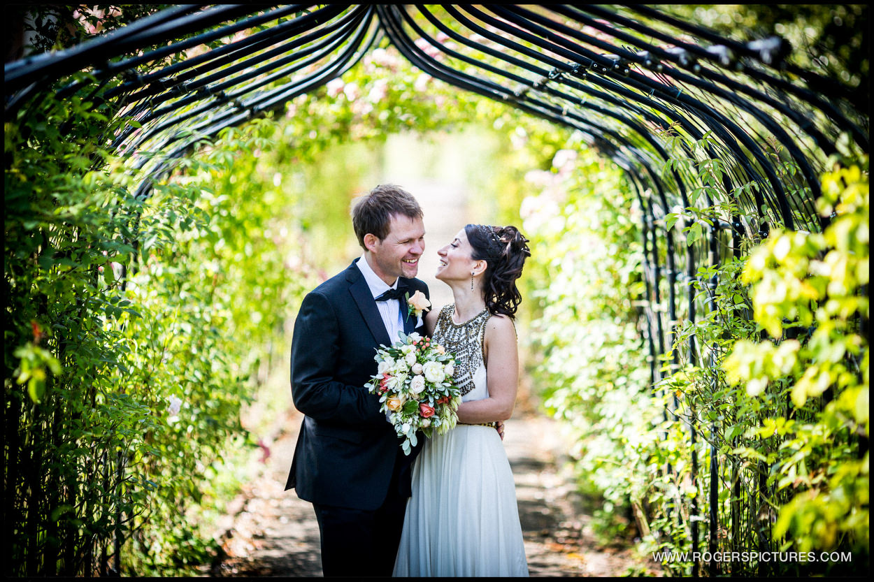 Nonsuch Mansion wedding portrait