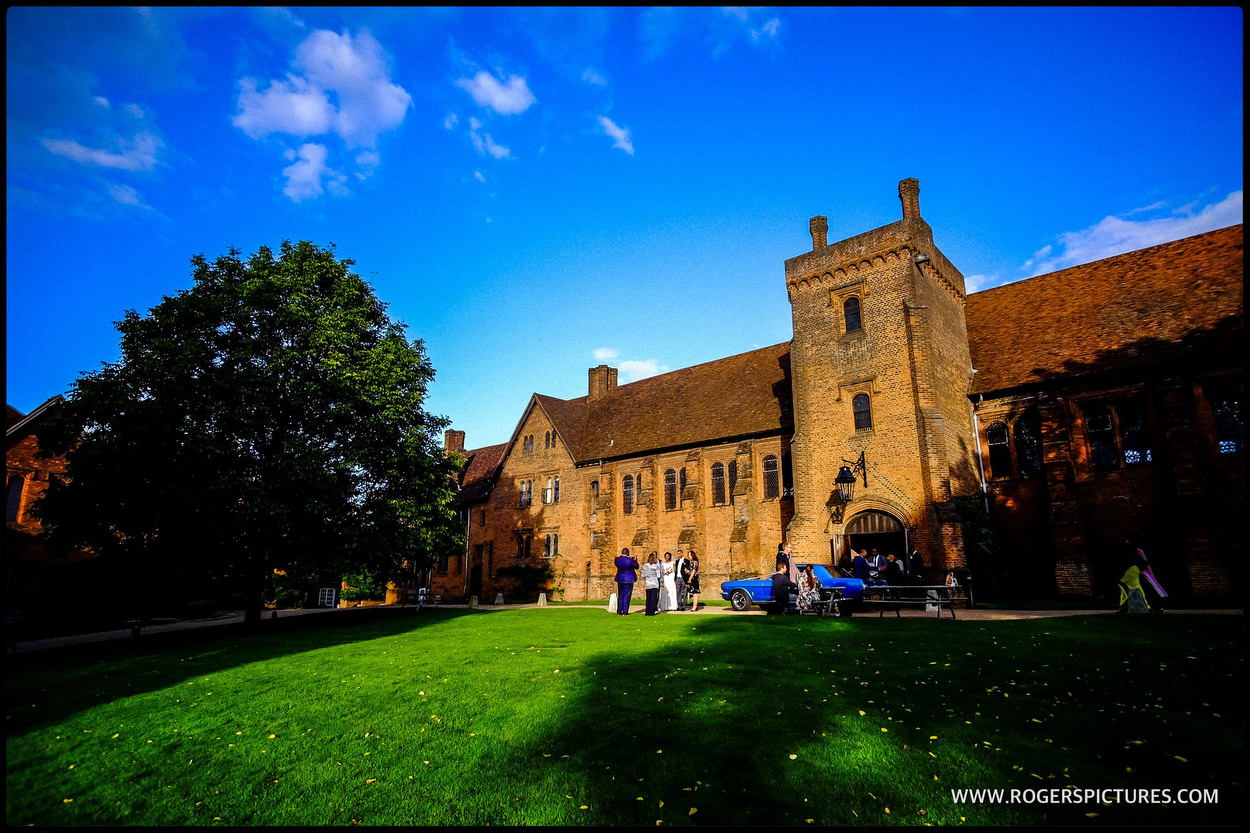 Hatfield house wedding venue old Palace