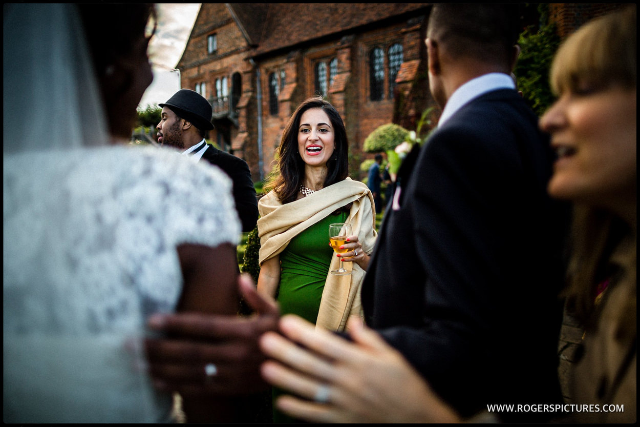 Guests at Hatfield house