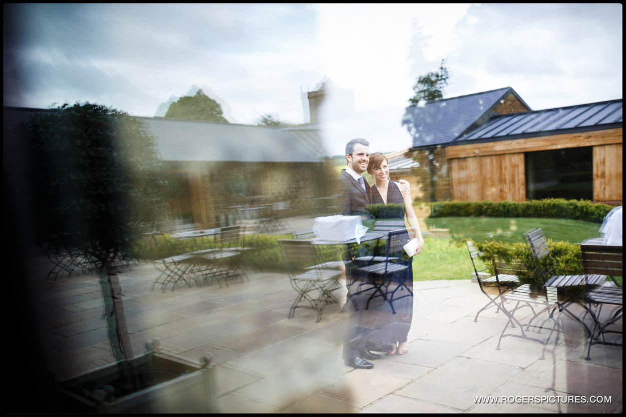 Guests at Dodford Manor wedding