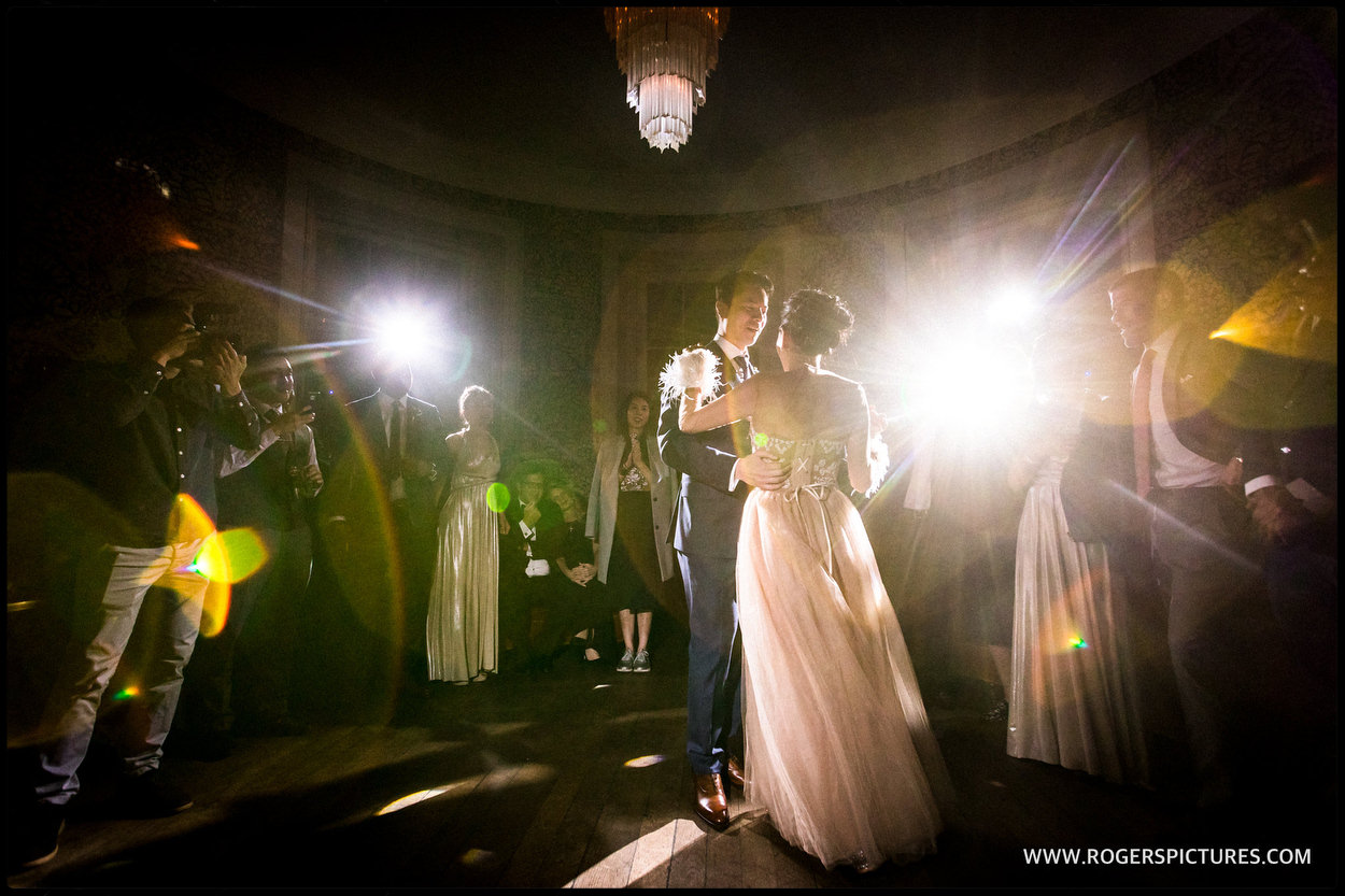 First Dance at Babington House in Somerset