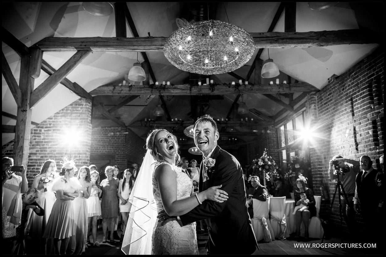 First dance at Wasing Park in Berkshire