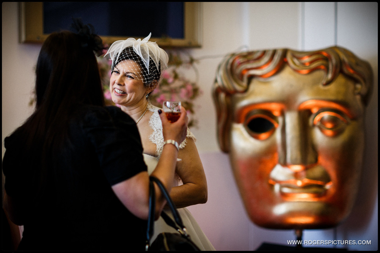 BAFTA Wedding photographer