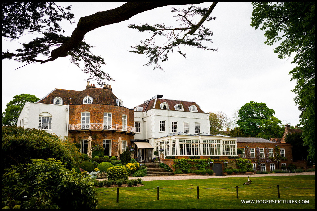 St Michaels Manor wedding venue in St Albans