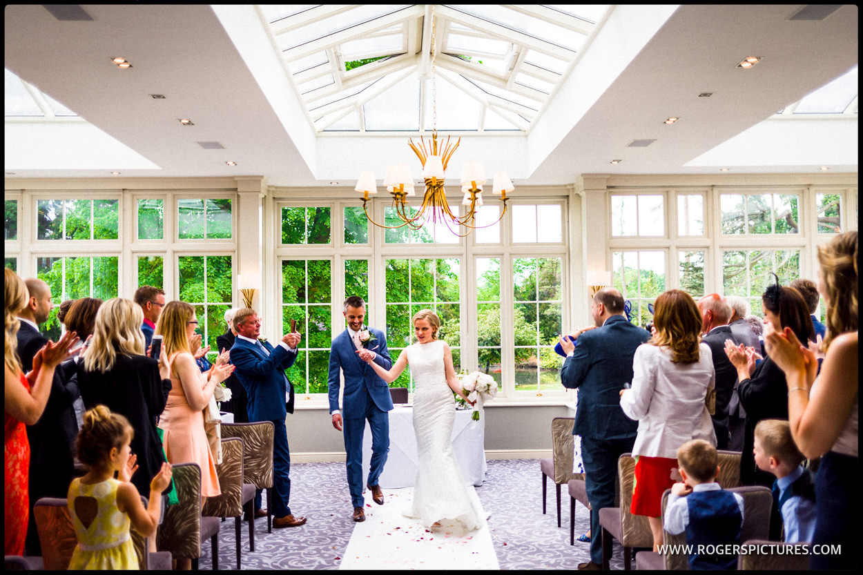 Hertfordshire wedding ceremony in St Albans