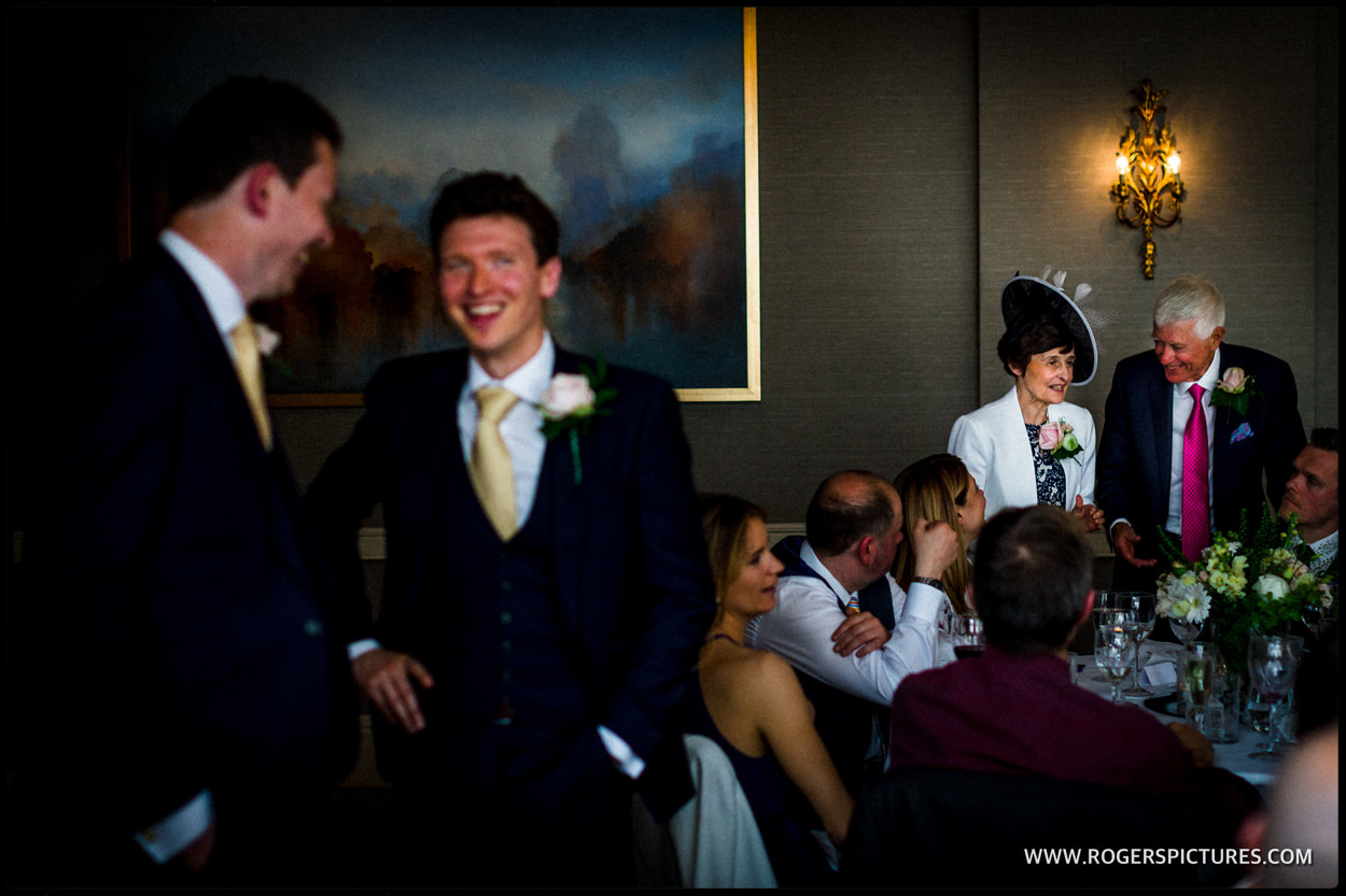 St Albans wedding reception