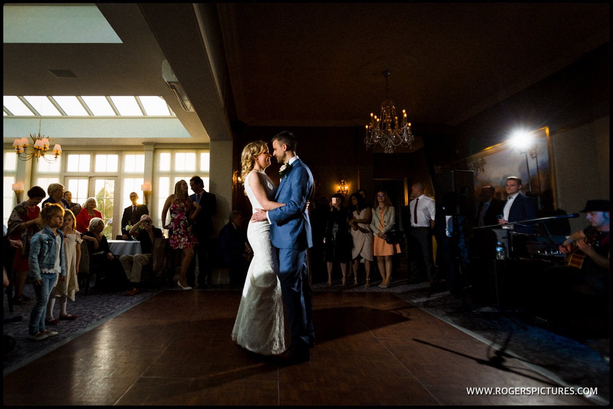 First dance at wedding in St Albans